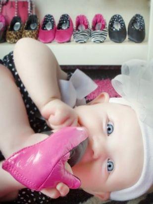 scarpa tacco neonata