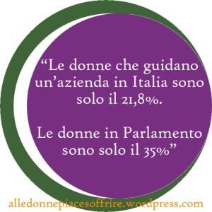 donne azienda e Parlamento