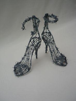 scarpe col tacco spinate jonathan chaillou