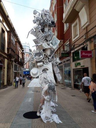 scultura Torrelavega Asociación Cultural Octubre